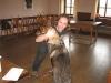 In der Pause: Hunderingen mit Stefan und Rusty