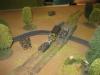 Die Deutschen stoßen über die Brücke vor