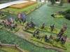 Die Infanterie marschiert dicht dahinter