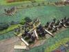 Die Southern Boys attackieren die desorganisierten 7th Kansas