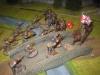 Kavallerie-Attacke auf die Brücke