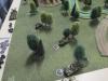 Die 21. Panzer versteckt im Wald
