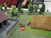Die Panzergrenadiere rücken zur Kirche vor