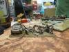 Die britische Artillerie feuert aus allen Rohren