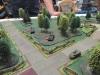 Die Briten positionieren ihre Tanks