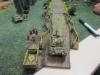 Der Jagdpanther überwacht die Straße zur Kreuzung