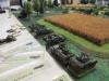 Die amerikanische Artillerie in Stellung
