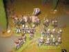 Die Guard Dragoons brechen eine französische Linieneinheit