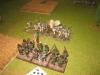 Feuergefecht zwischen Legione Lombardia und österreichischer Linieninfanterie
