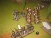 Arcshaos Lanciers attackieren die Landwehr im Karree