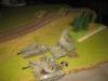Jagdpanther kommen über den Damm - und BLAMM!