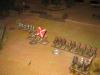 Das Regiment des Hetmans rückt langsam vor
