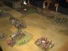 Die Kavallerieflügel manövrieren voreinander