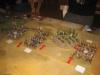 Die Kavallerieflügel gehen vom Charge in den Nahkampf