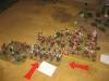 Die Franzosen zerbröseln die österreichischen Husaren