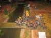 Der erste von mehreren gescheiterten Charges der spanischen Dragoner