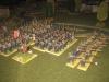 Endlich werden die ersten Garde-Bataillone in Marsch gesetzt