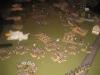 Die durchbrechenden Lanziere werden von der Landwehrkavallerie gestoppt