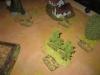 Die Jagdpanther stoßen an der rechten Flanke vor