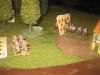 Preußische Dragoner versuchen die Flanke zu umgehen