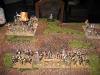Die Artillerie der Schotten auf dem Wigan Hill