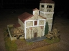 Italienische Artillerie geht in die Kirche