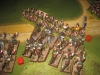 Colonel Sourds 2. Lanziere attackieren das nächste Bataillon