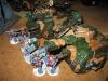 Oder auch: Space Wolves gegen Ransgard Dragoner
