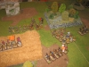 Meine Spanier marschieren gegen die Anglo-Saxon