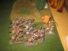 Die Bretonen verteidigen sich zäh gegen eine Übermacht