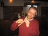 Und er kontert meinen Bardengesang mit Flötenspiel ... nice