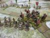 Die römische Kavallerie kracht in die Schleuderer