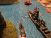 Der japanische Tanker bekommt einen Blindgänger ab