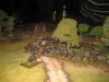 Colonel Lee führt seine Brigade in die Schlacht