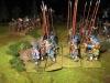 Die schottischen Piken auf dem Vormarsch (alle Schotten von Tom Mang)