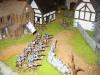 Die Schotten stehen an der äußeren Verteidigungswällen