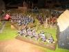 Hoptons Regiment geht an der Flanke vor