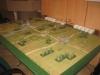 Die Tische sind noch verwaist: Planspiel
