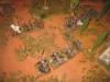 Iren und Reiterei beim Flankenangriff