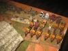 Die Dragoni Gialli überrennen und plündern den französischen Tross