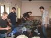Der Apo-Tisch (Fabian, Manuel, Stefan, Maxi, Rudi)