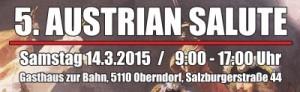 5. Austrian Salute am 14.03.2015