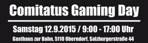 2. Comitatus Gaming Day am 12.09.2015