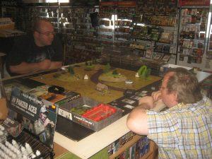 Spiele in Shop und Stammtisch Frühsommer 2016