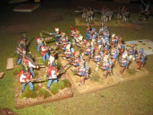 Napoleonischer Kugelhagel 11.08.2016