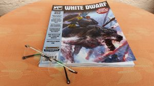 Distant Drums #01: White Dwarf Ausgabe 452 (April 2020)